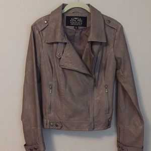 Nordstrom Vegan Leather Jacket